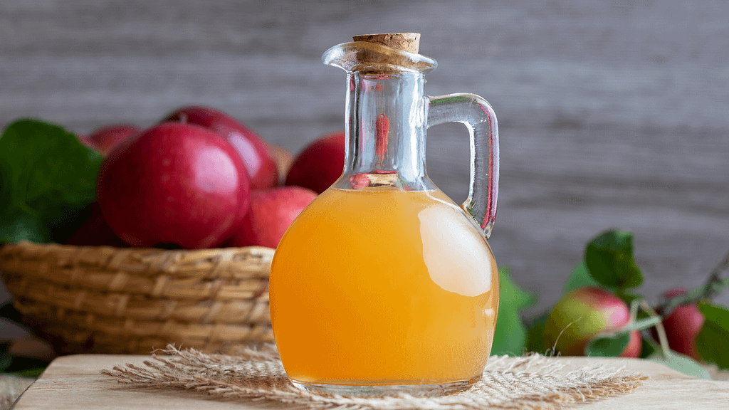 apple cider vinegar for hair oil
