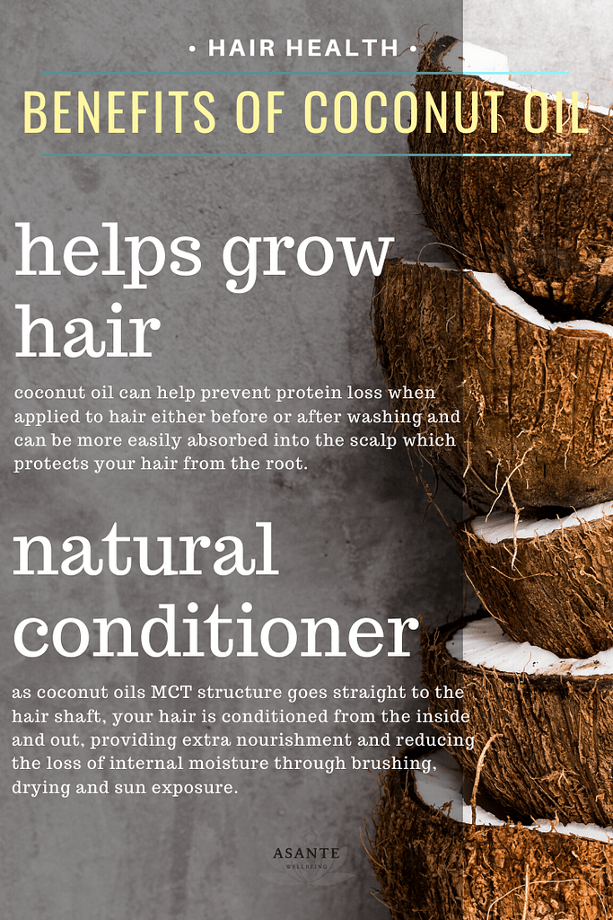 2 benefits of coconut oil for your hair
